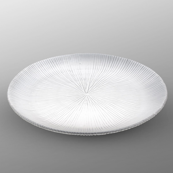 Image of Clear Glass Round Plate