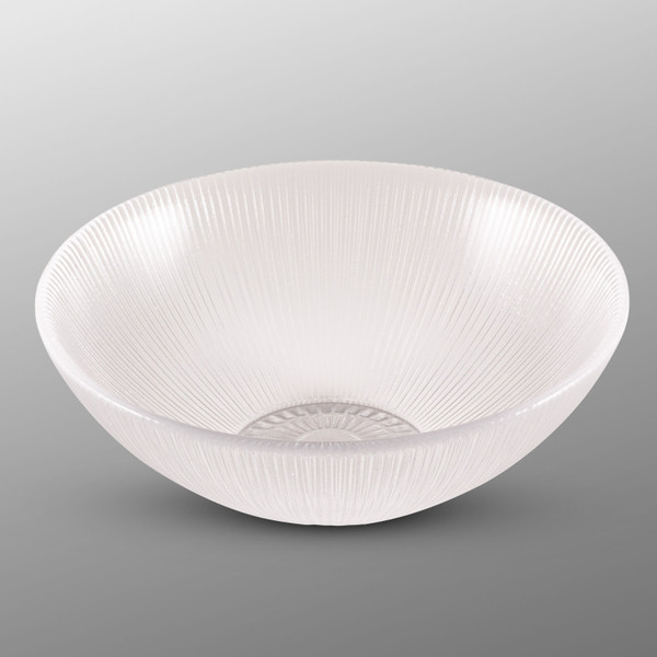 Image of Clear Glass Round Bowl