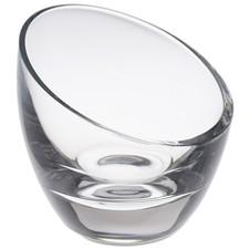 Mini Clear Glass Slashed Serving Bowl