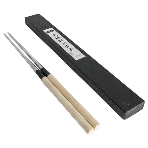 Image of Wooden Handle Plating Chopsticks (Moribashi)
