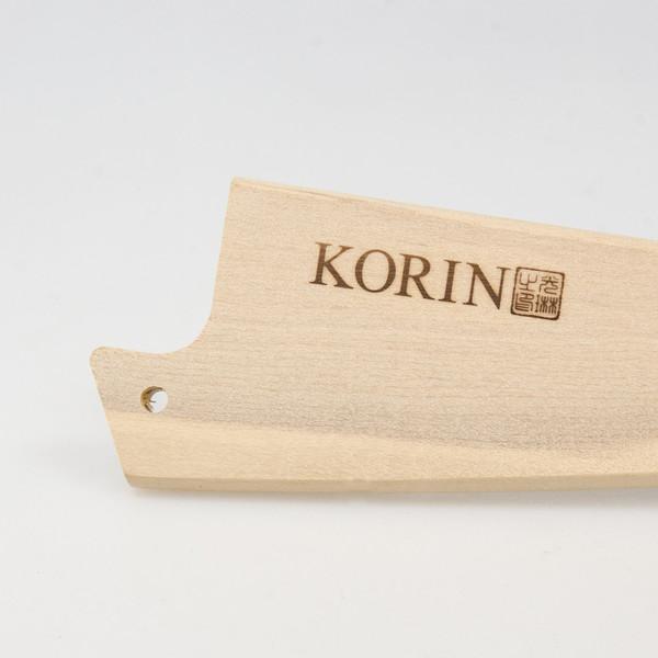 """Image of Magnolia Wood Knife Sheath / Saya Cover for Boning Knife (Honesuki) 5.9"""" (15cm) 2"""