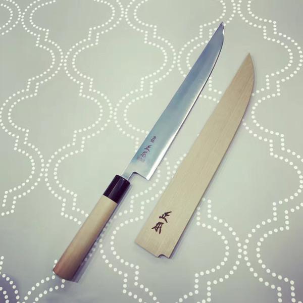 Image of Masamoto Sohonten Molybdenum Thin Wa-Carving Knife 2