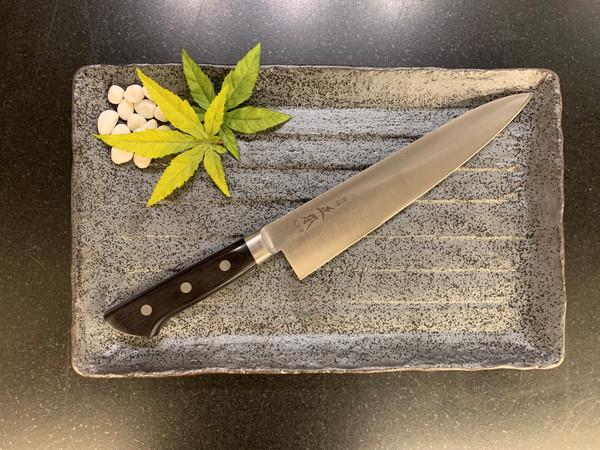 Image of Masamoto Sohonten Virgin Carbon Steel Gyuto 2