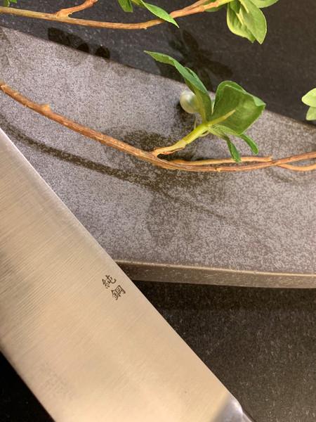 Image of Masamoto Sohonten Virgin Carbon Steel Sujihiki 3