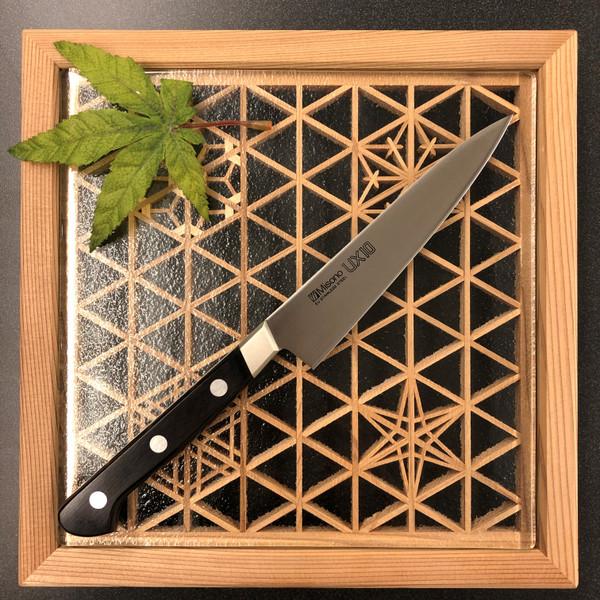 Image of Misono UX10 Santoku, Petty Knife - 2 Piece Knife Set 2