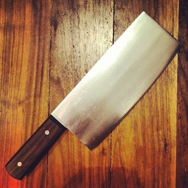 Image of Togiharu Carbon Steel Chinese Cleaver 2