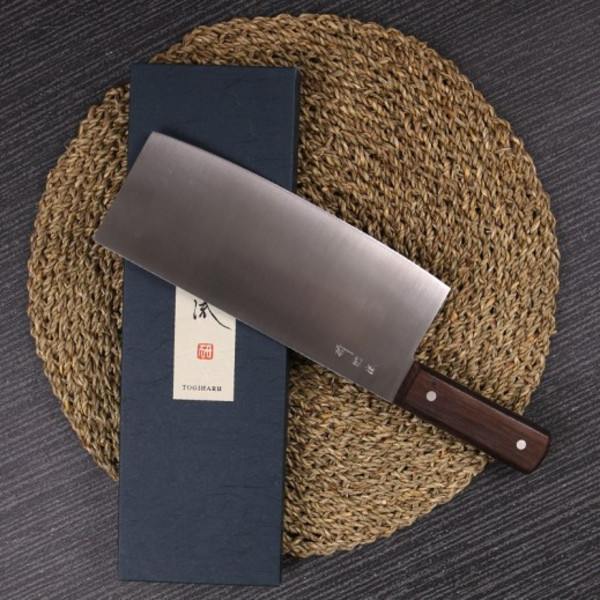 Image of Togiharu Carbon Steel Chinese Cleaver 3