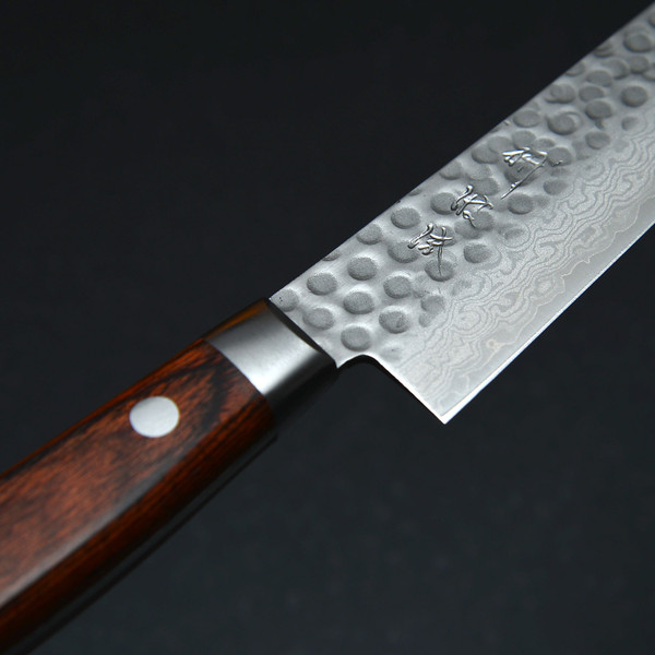 Image of Togiharu Hammered Texture Damascus Petty 4
