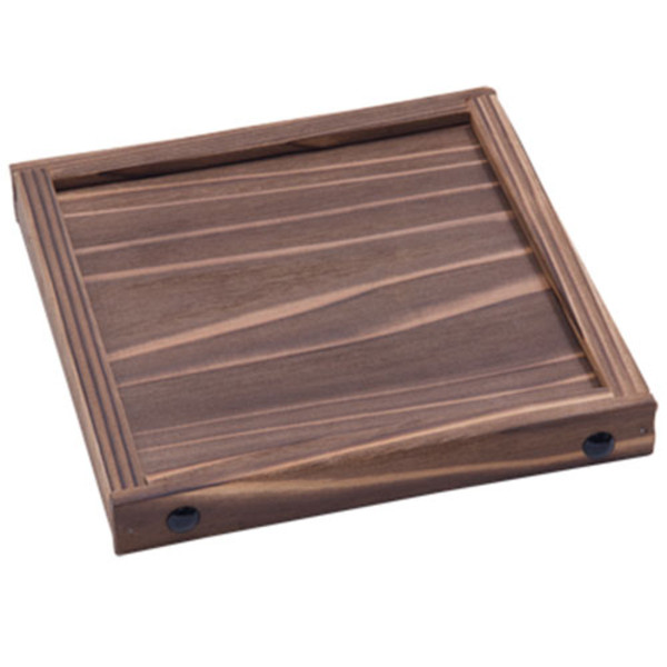 Image of Cedar Square Wooden Base 1