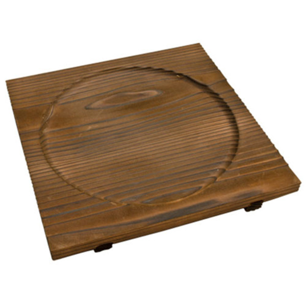 Image of Yakisugi Wooden Base