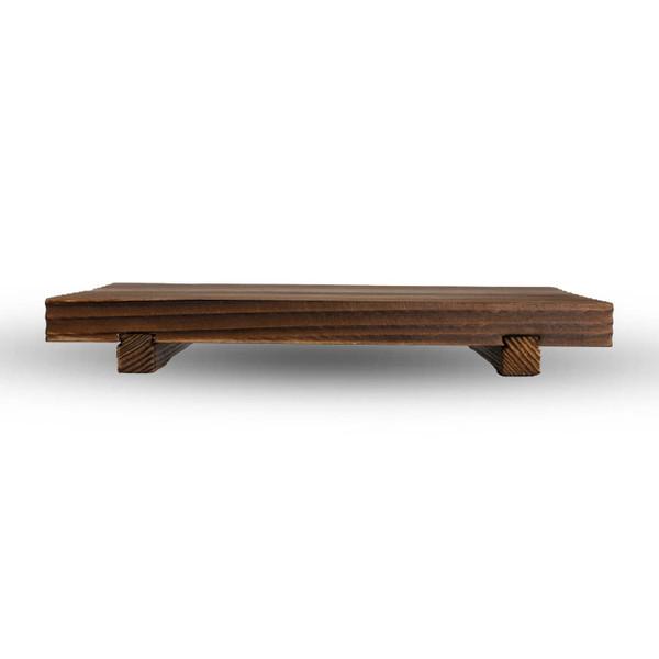 Image of Wooden Base for Mini Rectangle Hida Konro Grill 2