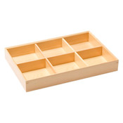 Wooden Kiwami Six Divided Bento Box