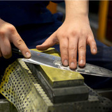 Western Style Knife Sharpening