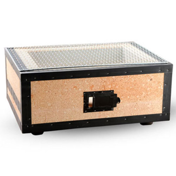Image of Charcoal Konro Grill with Net - Medium Wide