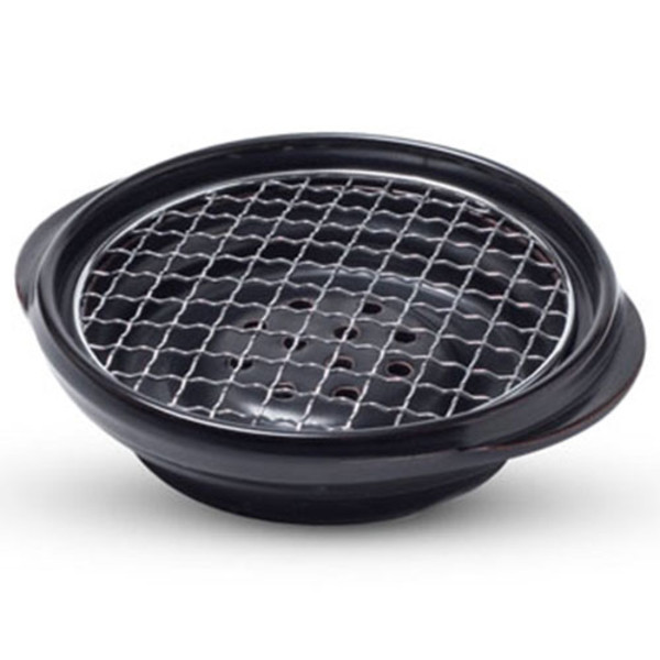 Image of Ishiyaki Grill with Round Net Screen