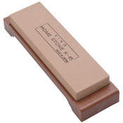 King Medium Grain Sharpening Stone with Base - #1000 Grit
