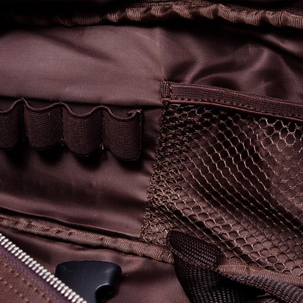 Image of Korin Brown Leather Knife Bag 2