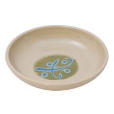 Green Round Melamine Plastic Sauce Dish