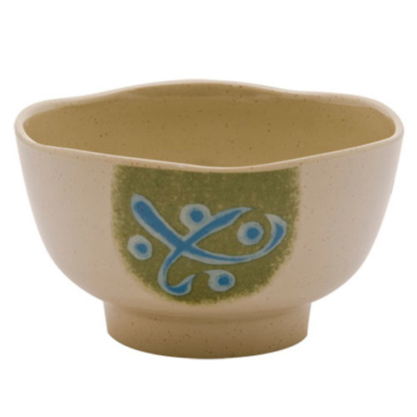 Image of Green Melamine Bowl