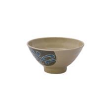 Green Melamine Plastic Rice Bowl