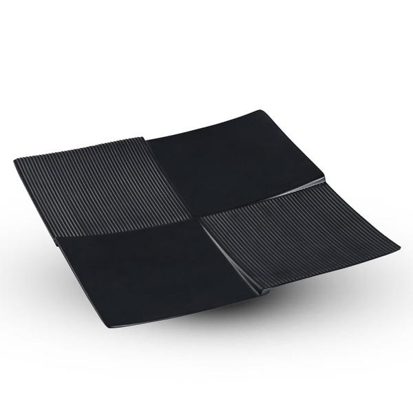 Image of Korin Satin Black Melamine Square Display Plate (Price By DZ)