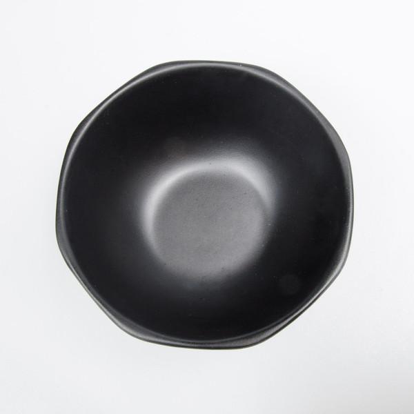 Image of Korin Satin Black Melamine Soup Bowl 2