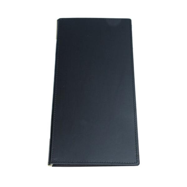 Image of Soft Matte Black Skinny Menu Book 1