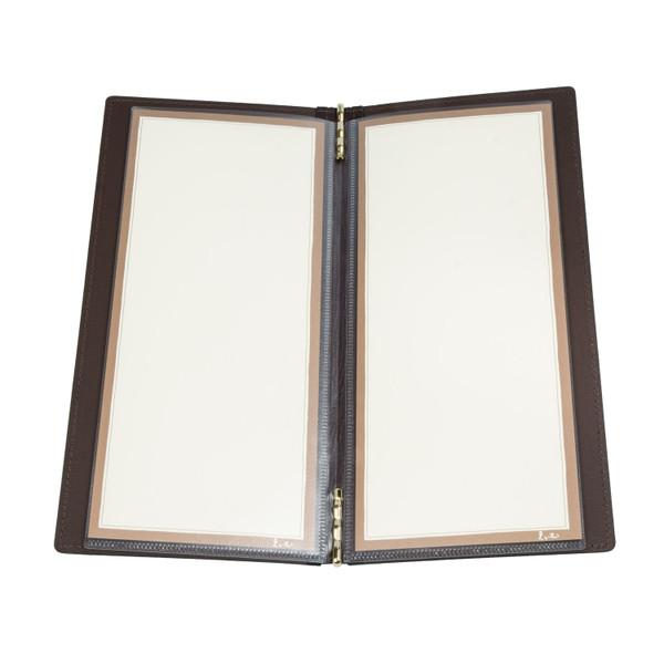 Image of Soft Matte Black Skinny Menu Book 2