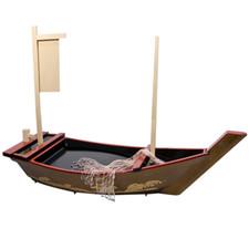 Plastic Nashiji Nami Sushi Boat