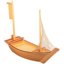 Plastic Shiraki Sushi Boat