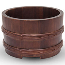 Urushi Lacquered Wooden Jar