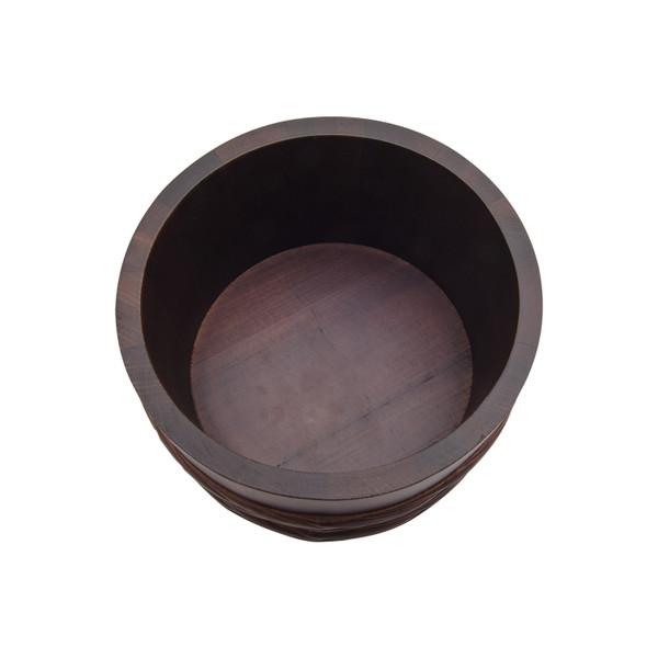 Image of Urushi Lacquered Wooden Jar 2