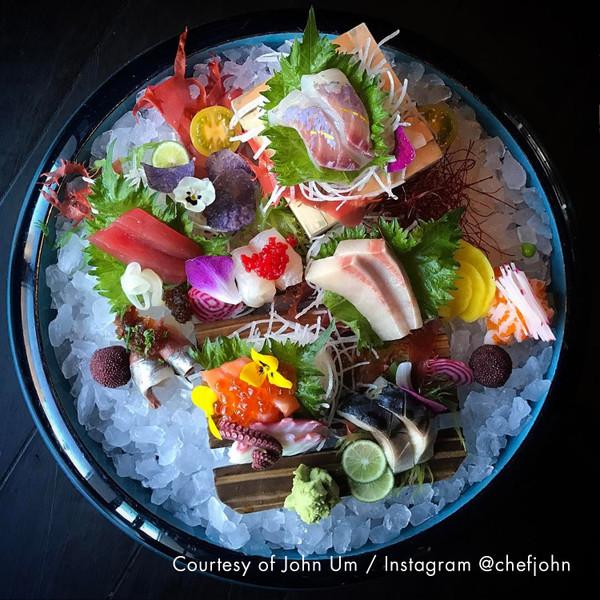 Image of Light Blue Seiryu Sushi Oke 3