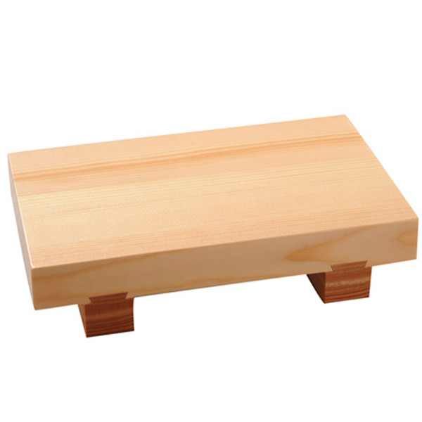 Image of Traditional Wooden Sushi Geta Large