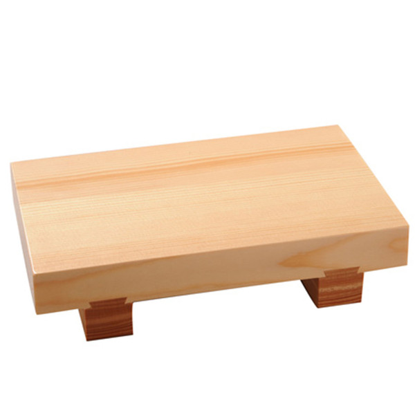 Image of Traditional Wooden Sushi Geta Small