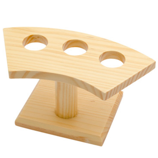 Image of Wooden Hand Roll Stand - 3 Holes