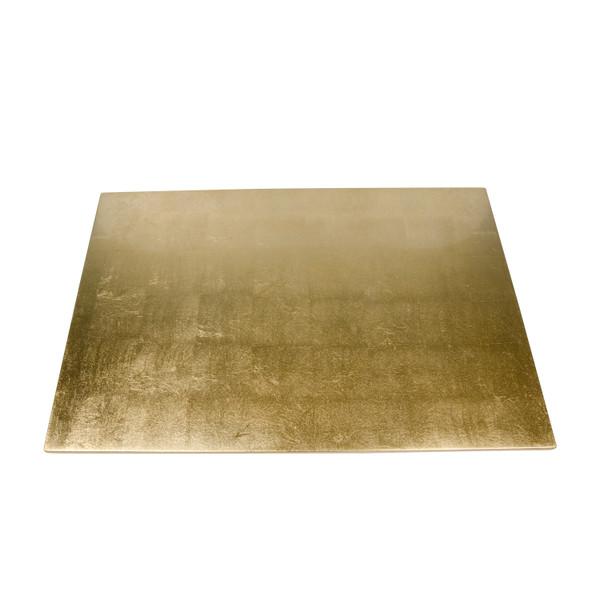 Image of Washi Gold Leaf Wooden Rectangular Tray 2