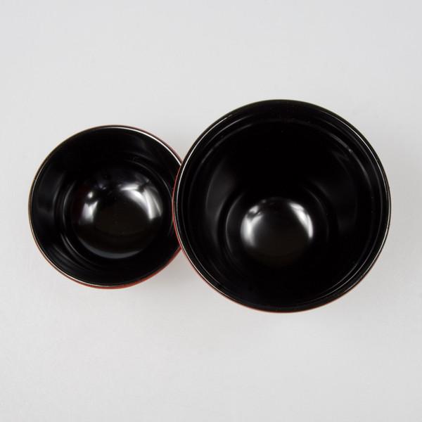 Image of Brick Red Plastic Lidded Bowl 2