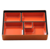 Gold and Red Bento Box