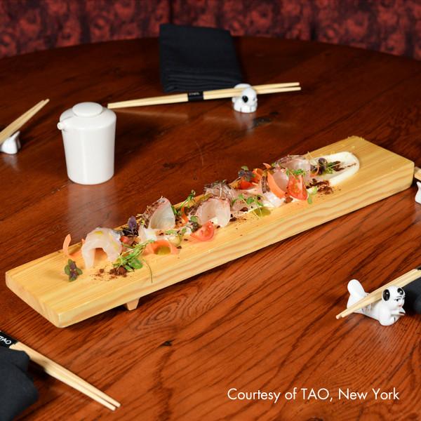 Image of Wooden Sushi Geta - Medium 2