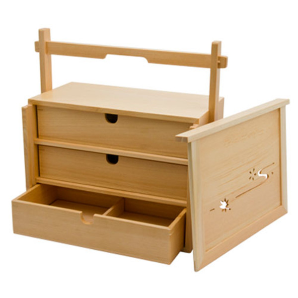 Image of Hinoki Lunch Box Drawer 1