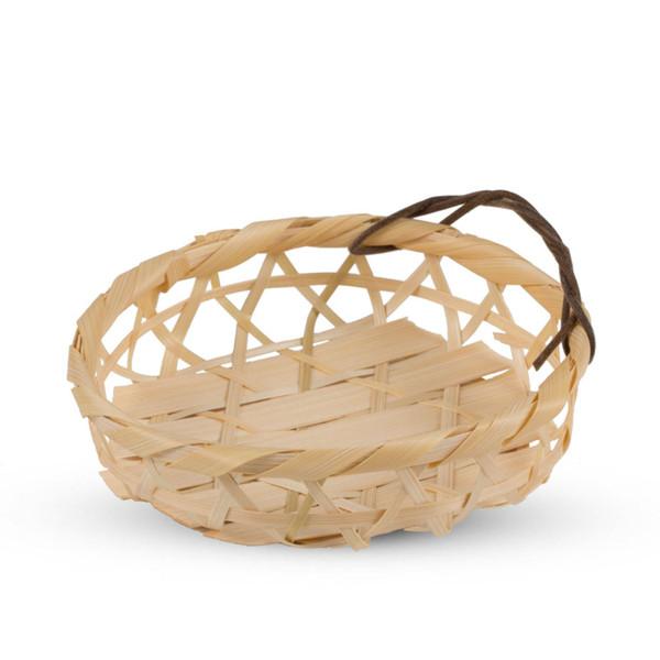 Image of Kanbuchi Round Bamboo Basket