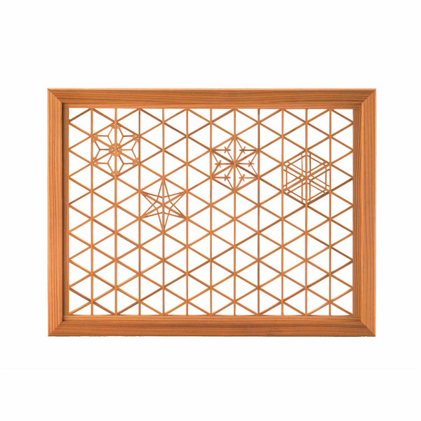 Image of Rectangular Glass and Akita Cedar Kumiko Tray 1