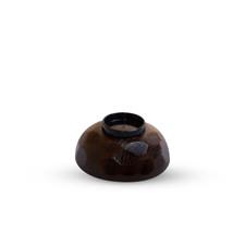 Kikko Tame Brown Lidded Soup Bowl