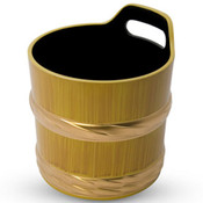 Shiraki Melamine Sake Cooler