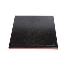 Black Square Bento Box Cover