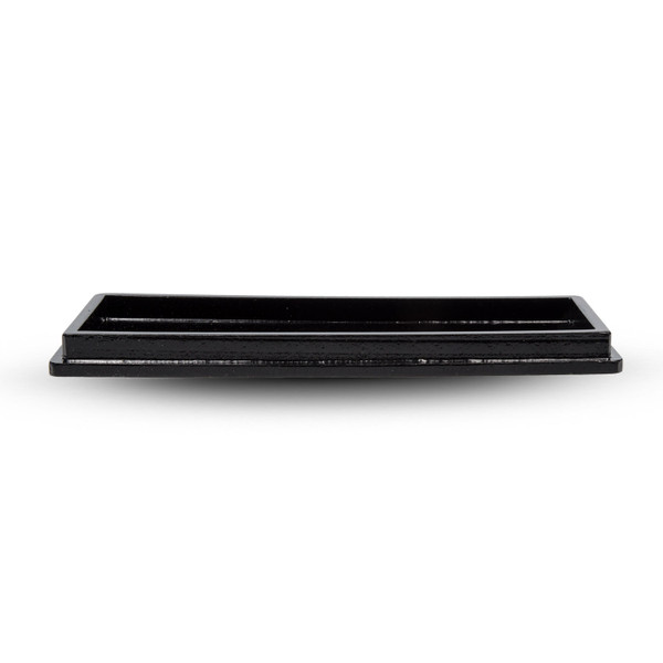 Image of Black Wooden Tray 2