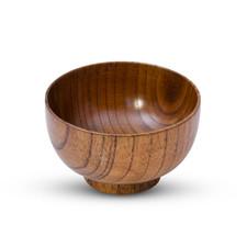 Wooden Soup Bowl