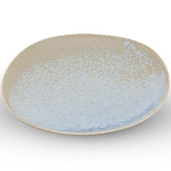 Image of Zorba Blue Square Plate 1