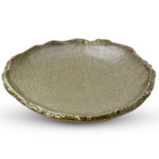 Oribe Green Round Plate